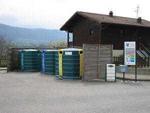 Recyclage aux Cellières